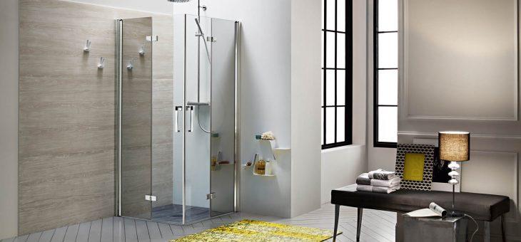 Перегородки для душа – стильная ванная